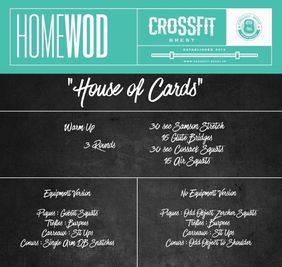 "Homewod ""Deck of Cards"""