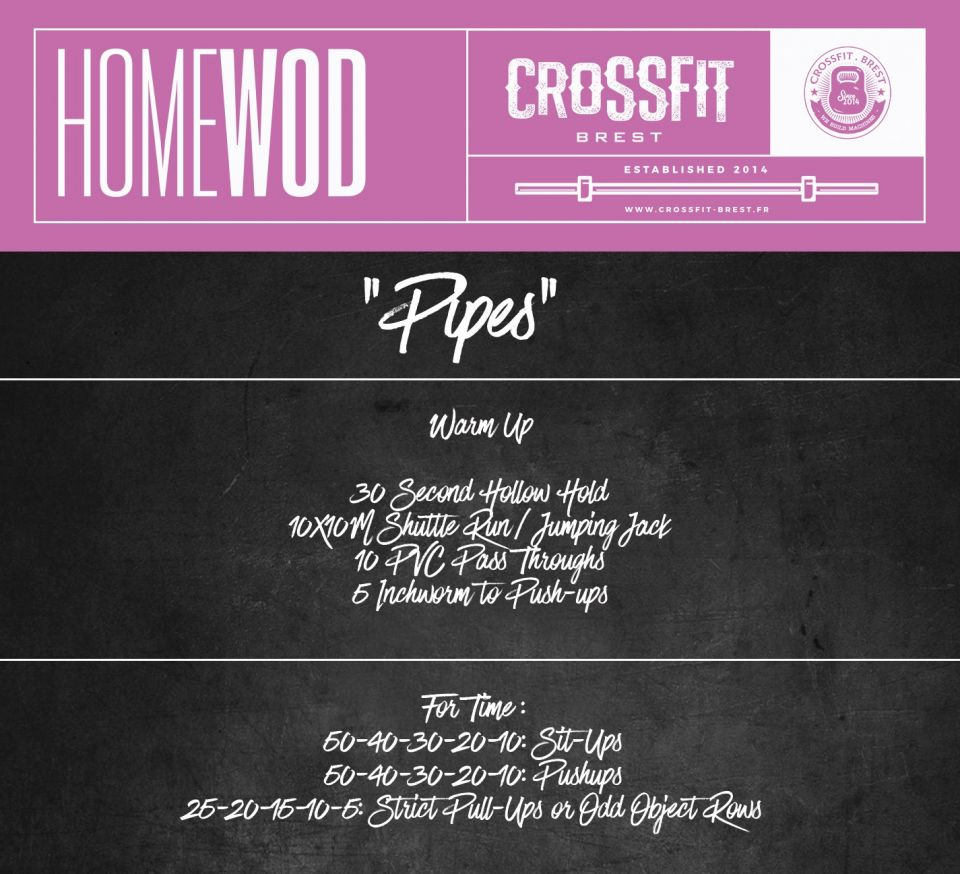 Homewod Mercredi 1er Avril