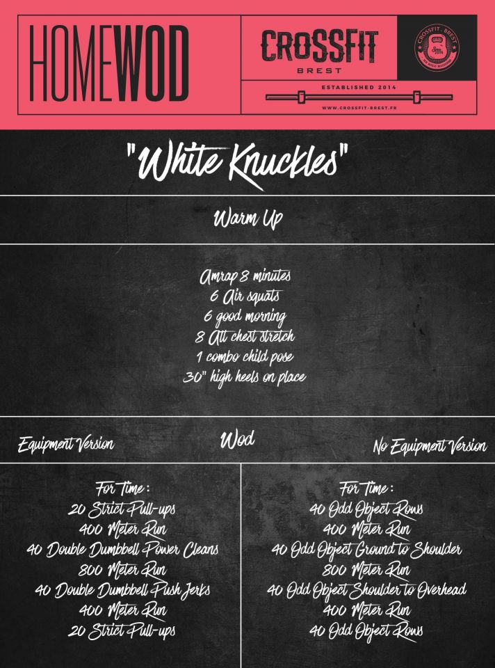 HOMEWOD Mardi 14 Avril White Knuckles